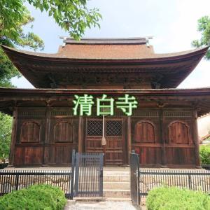 【清白寺】山梨が誇る国宝建造物2つの内の1つ。室町時代以前から残る仏殿を拝める寺院