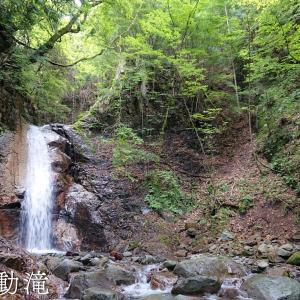 【雷不動滝】車から降りたら徒歩3分。古き良き住宅街に流れる癒しの隠れ滝