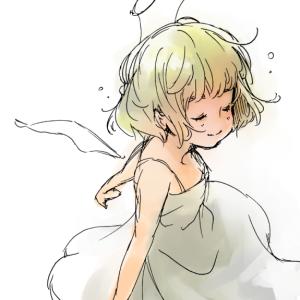 【駄絵】天使のふりして