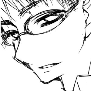 【駄絵】メガネ兄さん
