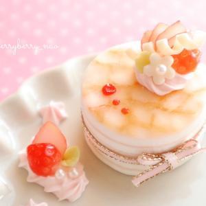 【製作中】動画レッスン♡苺のミルクレープのアクセサリートレイ