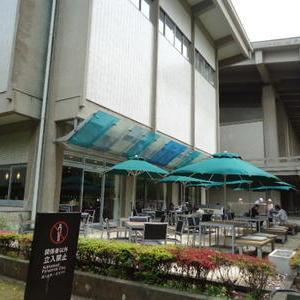 東京国立博物館の庭園散策