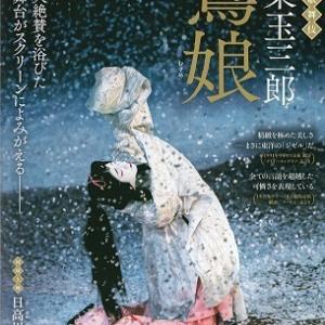 シネマ歌舞伎「鷺娘」を見る。