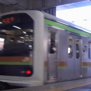 【元りんかい線車両】八高・川越線 209系3100番台 ハエ72編成 川越駅 発車