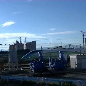 E3系山形新幹線とれいゆつばさ2号福島行(新庄発車) Series E3 TOREIYU-TSUBASA No.2 for Fukushima at Shinjo