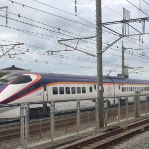 新幹線  つばさ  やまびこ 137号  戸田公園通過