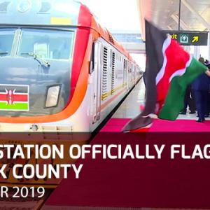 Suswa SGR Terminal Officially Opened