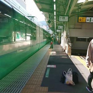 JR熱海駅 引退も近い!特急スーパービュー踊り子 伊豆急下田行き 到着&発車メロディ JR-SH5-1 出発