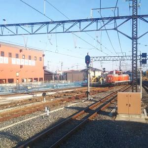 東武鉄道 SL大樹 C11‐207③留置線へ 2019.11.10