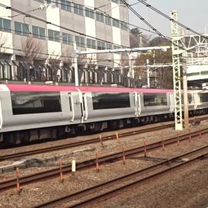 VerdeRayo♪E259系特急成田エクスプレス新子安駅通過
