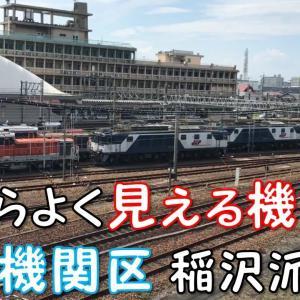 ◆機関区◆駅からよく見える機関車 愛知機関区 稲沢派出所 JR FREIGHT
