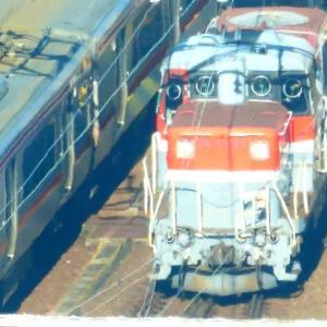 JR貨物 DE10形(国鉄DD51形ディーゼル機関車)愛知機関区 名古屋駅付近で撮影 2019.11.23