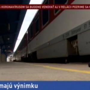 Cоvid-19 (Kоrоnavírųs) zastavil medzištátne vlaky osobnej dopravy
