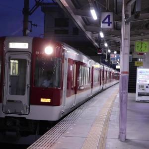 近鉄5211系VX12 定期検査出場回送