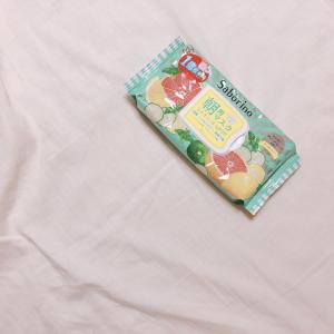ズボラ女子感激!朝用マスク『Saborino』すっきりタイプ【レポ】
