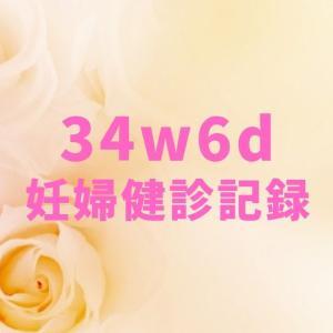 【双子妊婦】34w6d*妊婦健診記録