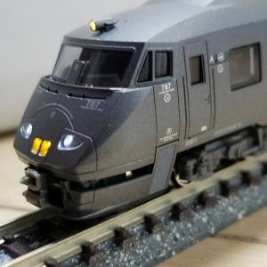 鉄道模型 787系入線