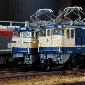 鉄道模型 EF65FとPF