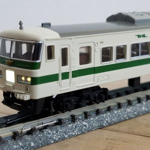 鉄道模型 マイクロエース185系200番台新幹線リレー号入線