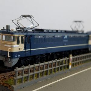 鉄道模型  EF65P%2B20系