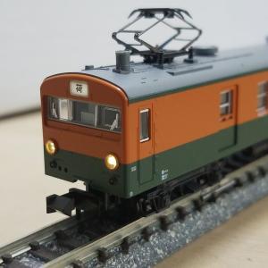 鉄道模型 クモユニ74入線