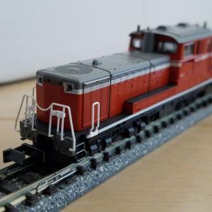 鉄道模型 KATO DD51-1043入線