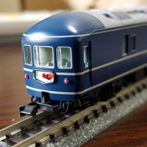 鉄道模型 KATO20系7両基本セット入線