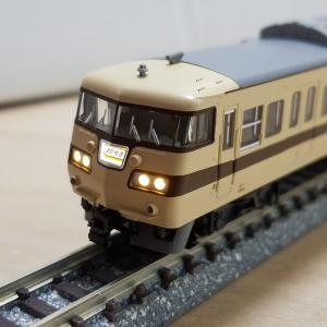 鉄道模型 KATOの117系 入線