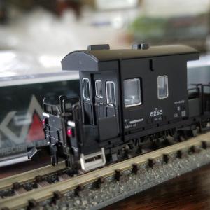 鉄道模型 KATOのヨ8000入線