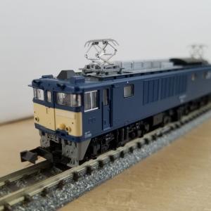 鉄道模型 KATOのEF64-1030入線