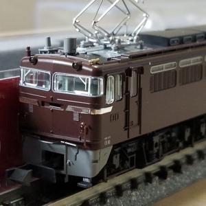鉄道模型 ホビセンEF65茶入線