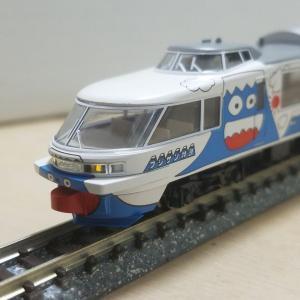 鉄道模型 フジサン特急、入線