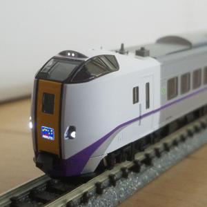 鉄道模型 キハ261-1000系、新塗装入線