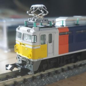 鉄道模型 KATOの81カシオペア入線