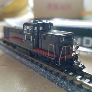鉄道模型 DE10JR九州仕様入線