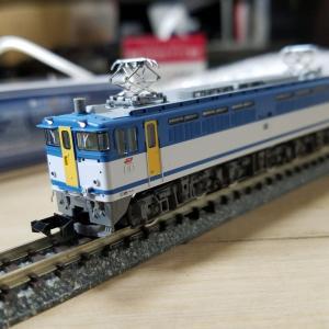 鉄道模型 2127号機カラシ入線