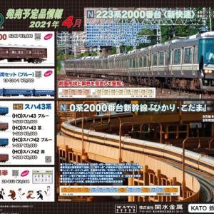 鉄道模型 KATO発売予定品情報です。
