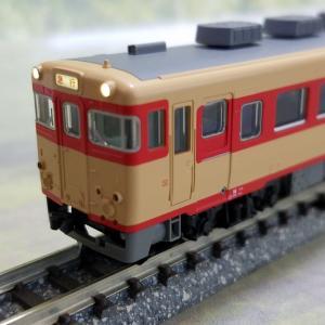 鉄道模型 KATOキハ58パノラミックウインドウ入線