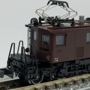 鉄道模型 KATOのED19 入線