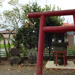 「上多古稲荷神社」(小田原市多古)