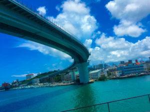 沖縄県、海の景色で癒されるアンテルーム那覇のランチに行ってきた