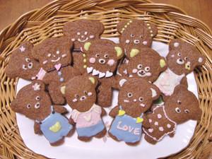 可愛すぎるクッキー