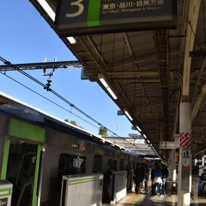 品川駅線路切り替え工事運用変更撮影