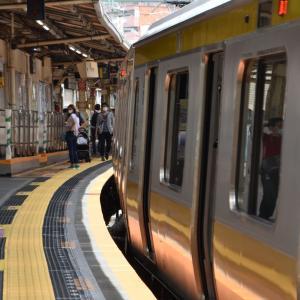 さよなら飯田橋駅急カーブホーム