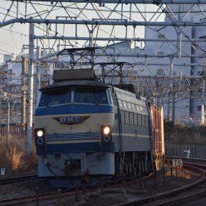 朝の東海道貨物を撮る