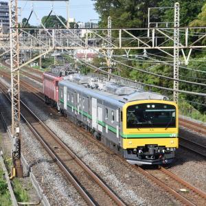 E493系+EF81-81 常磐線試運転