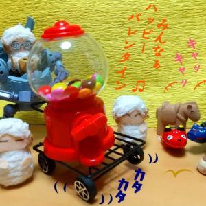 写真4コマ漫画+プラス・バレンタイン・プレゼンツ~(*'▽')ノ♥