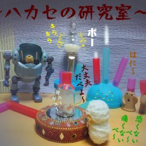 写真4コマ漫画+プラス・逆襲のハカセ!!( ー`дー´)キリッ