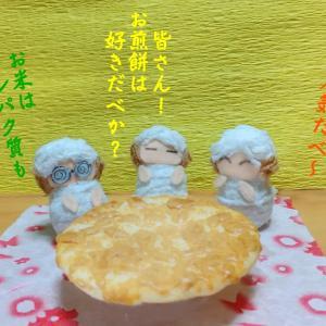写真4コマ・お煎餅~(・´з`・)ノ●