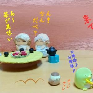 写真4コマ漫画・プレゼント~( *´艸`)